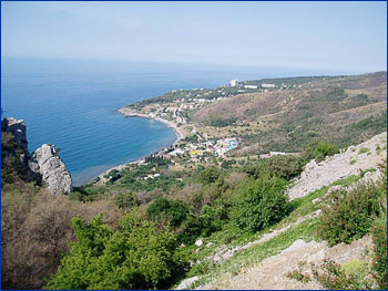 Пляжи Гаспры  фото настоящего отдыха в Крыму